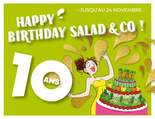 Salad&Co a 10 ans !