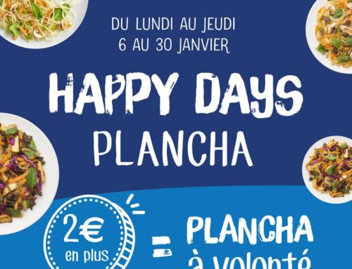 Les Happy days plancha !