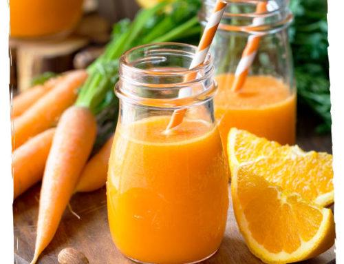 Jus orange carotte