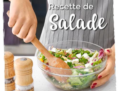 Salade vitaminée aux lentilles