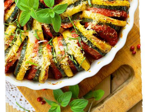 Tian de légumes végétarien