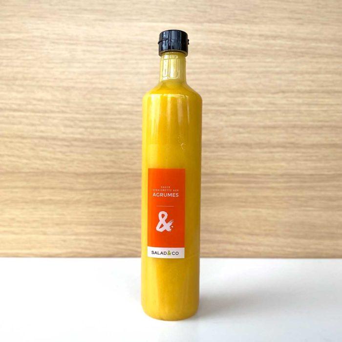 Sauce vinaigrette aux agrumes