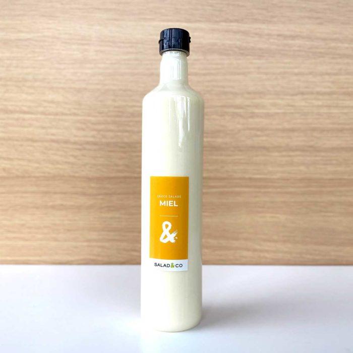 Sauce salade au miel bouteille - 750ml