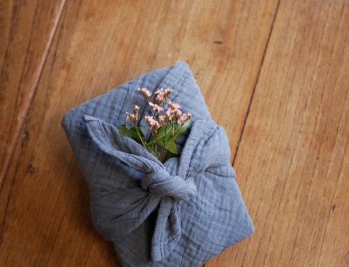 Le furoshiki comme emballage cadeau