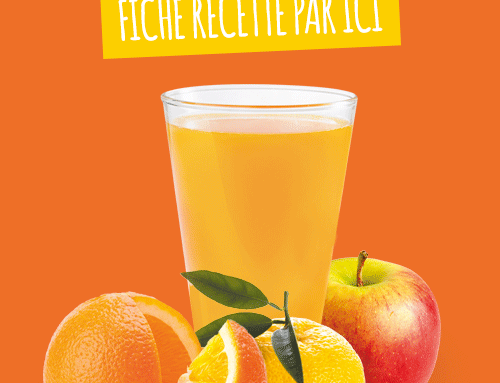 Recette jus pomme orange yuzu